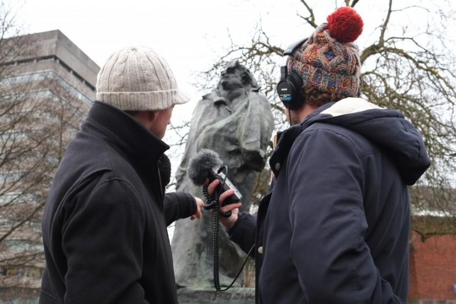 Arnoud Holleman en Tom Loois bij de Balzac